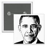 Obama, 2012 Button