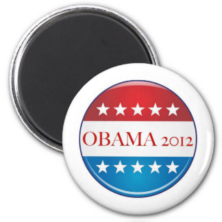 OBAMA 2012 BUTTON MAGNET