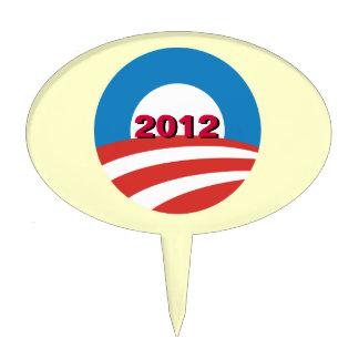Obama 2012 Cake Topper
