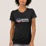 Obama 2012 camisetas