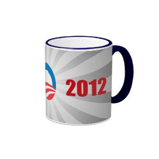 OBAMA 2012 CAMPAIGN COFFEE MUGS