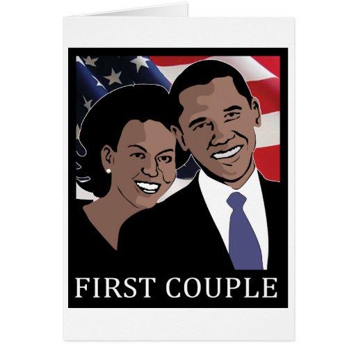 Obama 2012 card