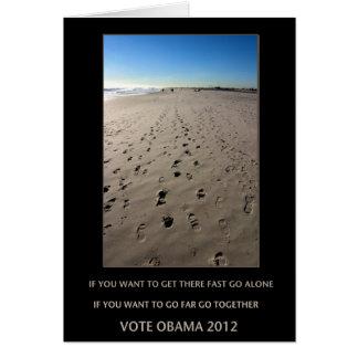 obama 2012 cards