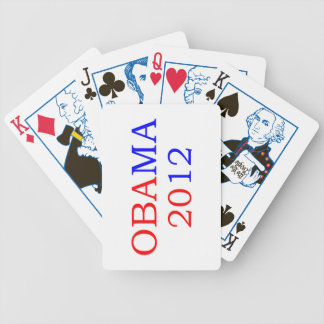Obama 2012 cards bicycle playing cards