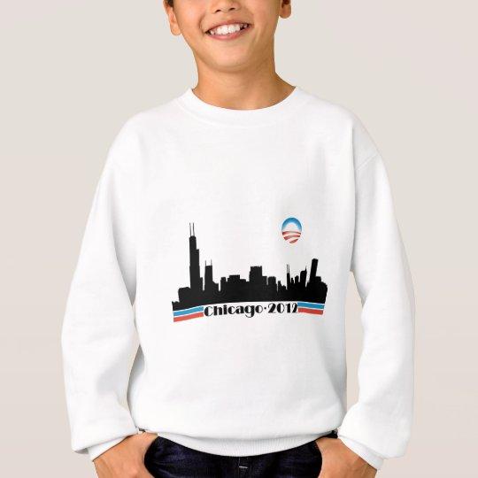 Obama 2012 - Chicago Skyline Sweatshirt