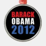 Obama 2012 christmas ornaments
