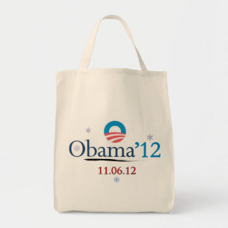 Obama 2012 Christmas Shopping Tote