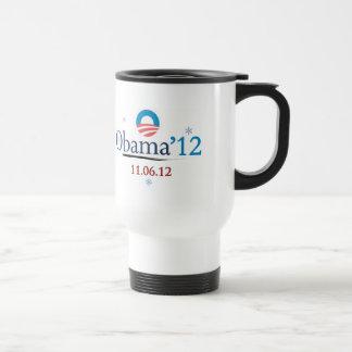 Obama 2012 Christmas Travel Mug
