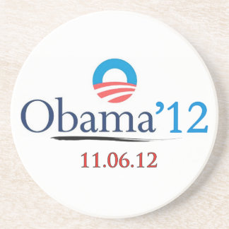 Obama 2012 Coaster