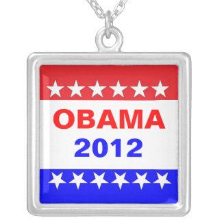 Obama 2012 colgante cuadrado