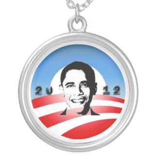 Obama 2012 colgante redondo