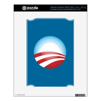 Obama 2012 decal for NOOK