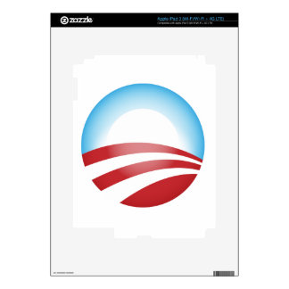 Obama 2012 decals for iPad 3
