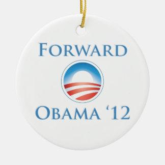Obama 2012 - Delantero Adorno Redondo De Cerámica