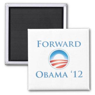 Obama 2012 - Delantero Imán Cuadrado