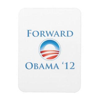 Obama 2012 - Delantero Imán Flexible
