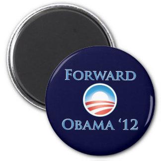 Obama 2012 - Delantero Imán Redondo 5 Cm