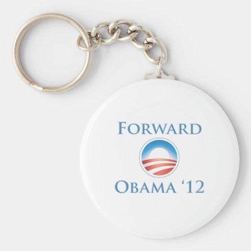 Obama 2012 - Delantero Llavero Redondo Tipo Pin