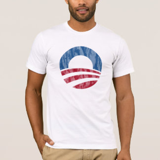 Obama 2012 Distressed Logo Tee