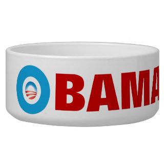 Obama 2012 dog water bowls
