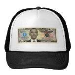 Obama 2012 Dollar Bill Trucker Hat