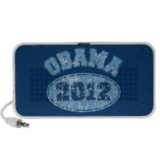Obama 2012 Doodle Portable Speaker