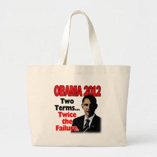 Obama 2012: Dos términos, dos veces el fracaso Bolsas