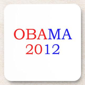 Obama 2012 drink coasters