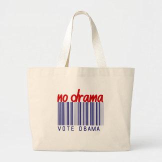 Obama 2012 Election Bumper Sticker Tote Bag