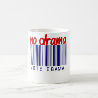 Obama 2012 Election Bumper Sticker Coffee Mug