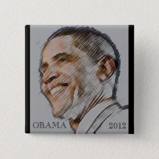 Obama 2012 Election Button