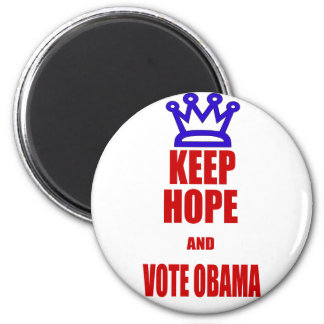 Obama 2012 Election KEEP CALM Style 2 Inch Round Magnet