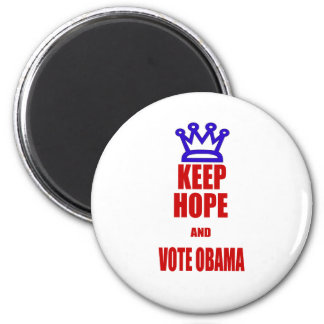 Obama 2012 Election KEEP CALM Style Magnet