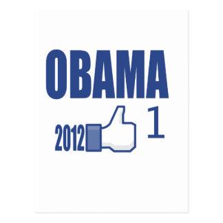 Obama 2012 Election Postcard