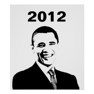 Obama 2012 Election Poster