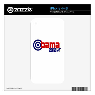 Obama 2012 Election Skin For The iPhone 4S
