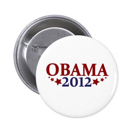 Obama 2012 estrellas pins