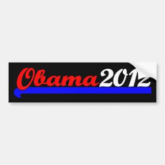 Obama 2012 etiqueta de parachoque