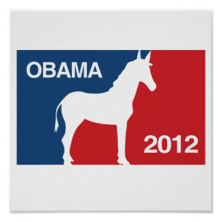 OBAMA 2012 FAVORABLE - PNG POSTER