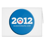 Obama 2012 felicitacion