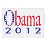 Obama 2012 felicitación