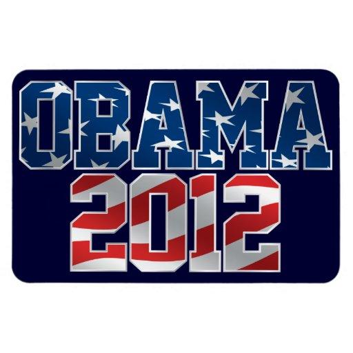 Obama 2012 Flexi Magnet