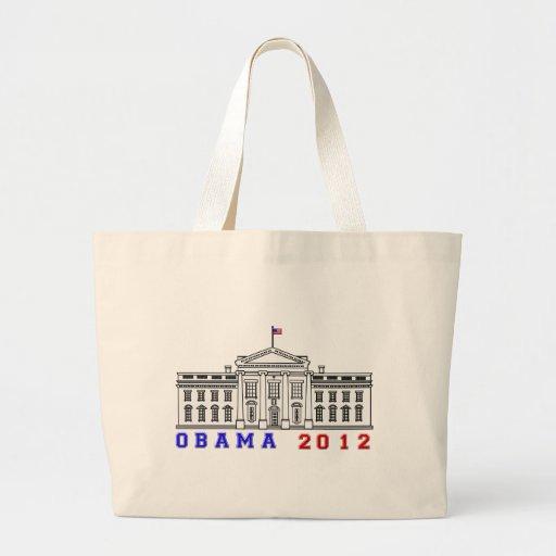 Obama 2012 for Whitehouse Bag