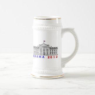 Obama 2012 for Whitehouse Beer Stein