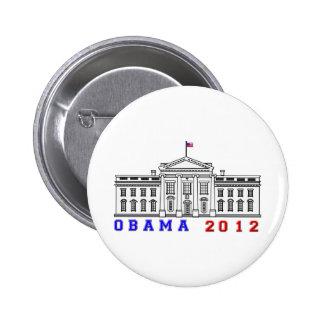Obama 2012 for Whitehouse Button