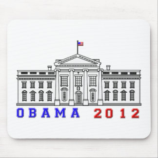 Obama 2012 for Whitehouse Mouse Pad