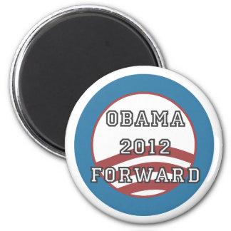obama 2012 forward magnet