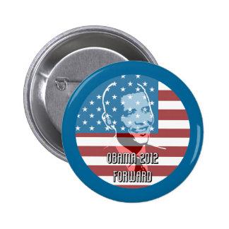Obama 2012 Forward Pinback Button