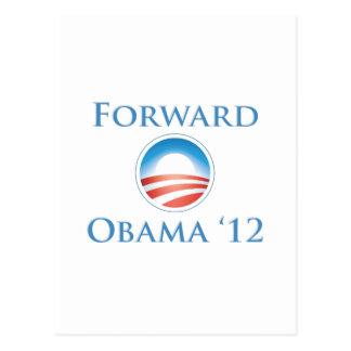 Obama 2012 - Forward Postcard