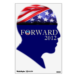Obama 2012 FORWARD Wall Decal